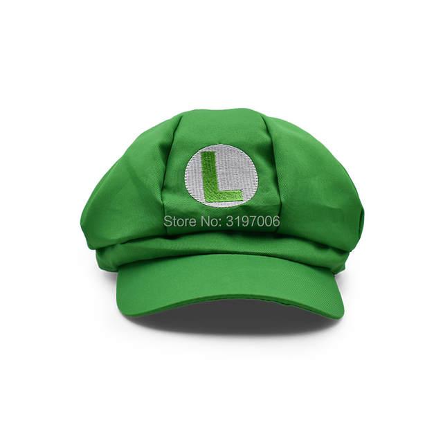 90ec981c1fe placeholder 5 Colours Anime Super Mario Hat Cap Luigi Wario Waluigi Bros  Cosplay Baseball Costume Cartoon Hats