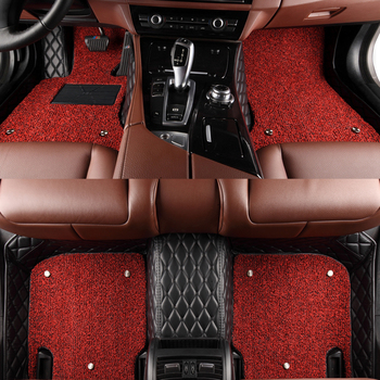 SUNNY FOX car floor mats for Mazda 2 3 Axela 6 8 5D CX5 CX-5 CX7 5D full cover foot case car-styling carpet anti slip liners image