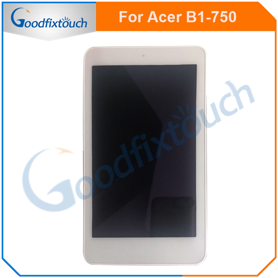 US $18 29 12% OFF For Acer Iconia one 7 B1 750 B1 750 LCD Display Panel  Screen Monitor Touch Screen Digitizer Glass Assembly With Frame-in Mobile