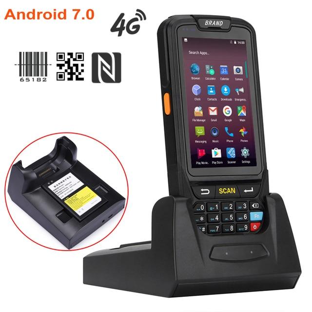 PL-40L 4G Lte bluetooth portable 1D laser 2D android code-barres scanner pda terminal de données scanner livraison gratuite 1