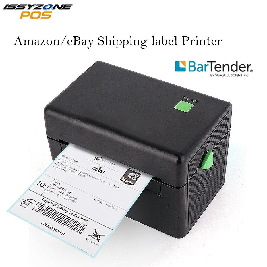4 pouces 127 mm/s Pas Cher Thermique étiquette adhésive imprimante de code à barres port usb 2D Barcode LIVRAISON Bar code Modifier Logiciel ITPP072