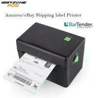 Issyzonepos высокоскоростной термопринтер для печати этикеток наклейка со штрих кодом принтер 4 дюйма доставка этикетка Мини Печать 20 мм Логисти