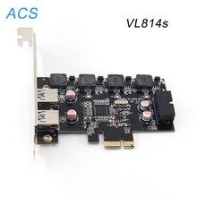 Новый 4-фазный Мощность USB3.0 19pin Разъем Питания PCI-Express 4X Card Адаптер Расширения Разъем
