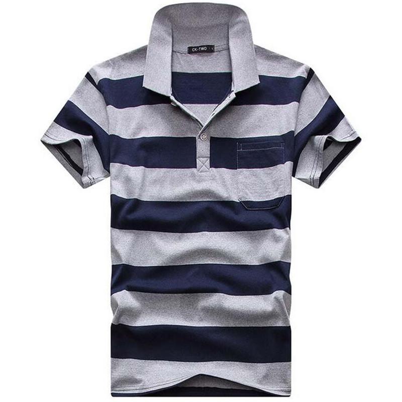 482a8e5c3 Cavalheiro algodão ocasional Camisa Dos Homens do POLO de Algodão ...