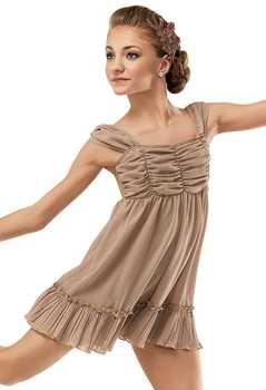 Children\'s Ballet Dancing Dress Adult Chiffon Modern Dance Costumes Girls Jazz Dance Performance Wear Acrobatic Dress D-0440 - DISCOUNT ITEM  35% OFF Novelty & Special Use