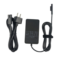 Genuine Original OEM For Microsoft Surface Pro 3 4 5 Book AC Power Charger Adapter 44W 15V 2.58A(Model: 1800) 1796 & Cord
