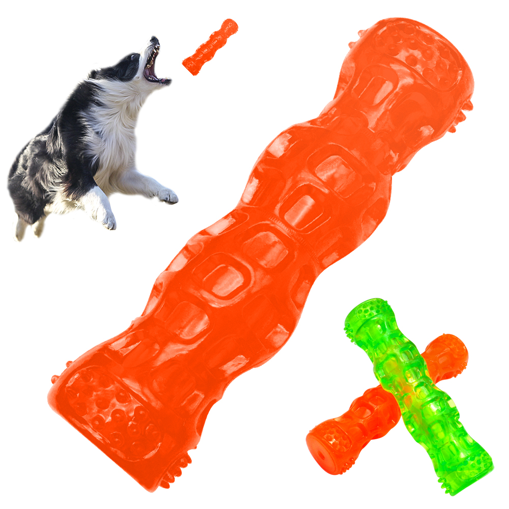 Interactive Dog Toys Soft Rubber Pet Spueak Dog Toy -6723