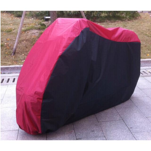 XL size Motorcycle Bike Moped Scooter Cover Dustproof Waterproof Rain UV Resistant Motorbike Covering 245*105*125 cm