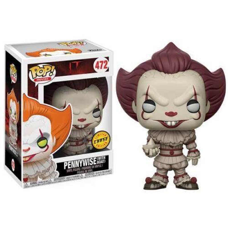 Funko POP 472 PENNYWISE PVC Action Figure Collectible Modelo brinquedos para chlidren