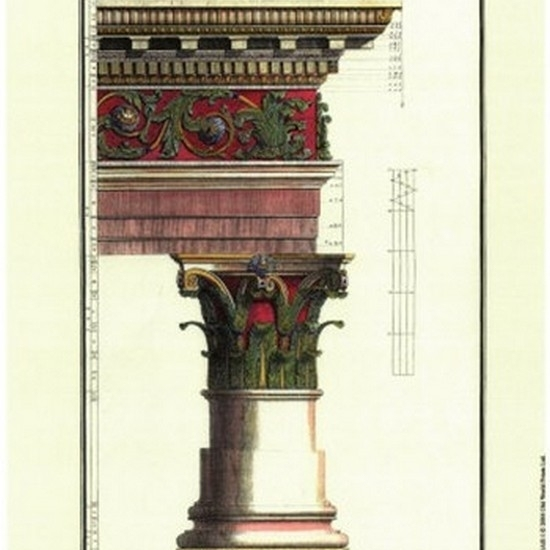 Small Column (AS) I Poster Print by Vision studio (7 x 11)