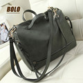 BOLO Brand!2016 Hot new women retro handbag shoulder diagonal package large capacity high quality PU leather handbag woman bag