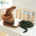 Babiqu 1 шт. 130 см Моделирование Кобра и питон плюшевая игрушка змея мягкие зодиакальные куклы смешная игрушка в подарок для детей Детские игруш...