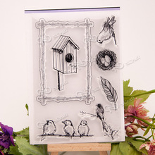 NCraft Clear Stamps N1168 Scrapbook Paper Craft Clear stamp scrapbooking