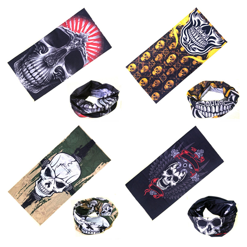 Women Men Multi Functional Headband Magic Bandana Seamless Tubular Tube Outdoor Sport Bicycle Bike Ring Scarf Headband