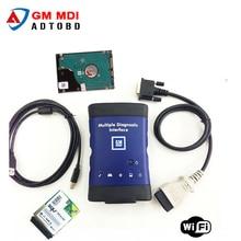 2017 neue ankunft Qualität Diagnostic tool für GM MDI scanner für gm mdi wifi mit hdd software Dhl-freies verschiffen