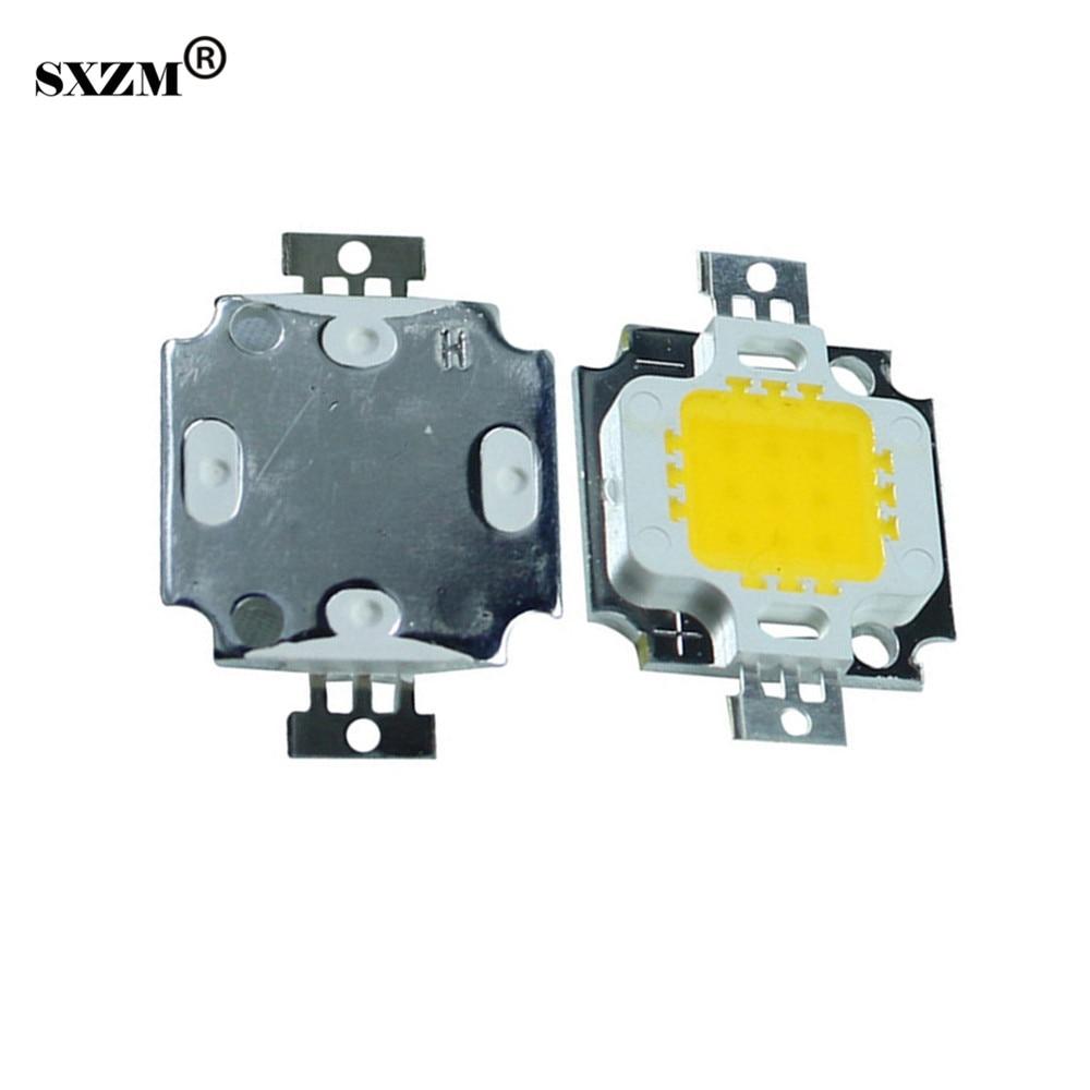 SXZM 10pcs 10W Epistar chip led s