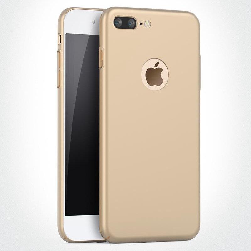 Чехол для iphone 5S 5 s iphone 5 S SE Роскошные Жесткий ПК тонкий матовый кожи логотипом отверстие задней чехол для iphone SE 5S iphone SE случае