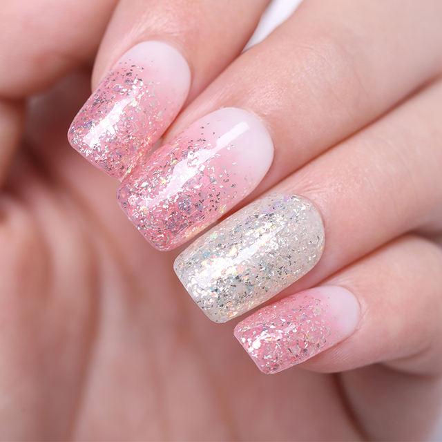 LILYCUTE 8ML  Glitter Sequins Nail Gel