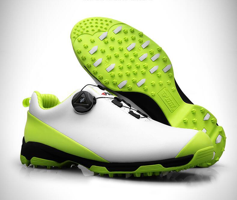 Высокое качество! PGM Гольф обувь противоскользящей дышащая обувь из лакированной Для мужчин супер водонепроницаемая Для мужчин s спортивна...
