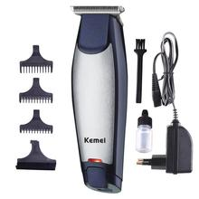 Kemei Quiet Multifunction Quick Charging Electric Hair Clipper for DIY Lettering