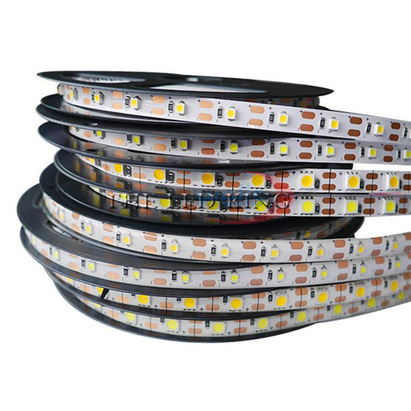 12 V Led Strip Light Smd 5050 High Bright 1- 5m 60leds/m Led Lamp Flexible Tape Lights Rgb Led Diode Tape No Waterproof Ideal Gift For All Occasions