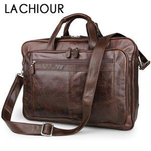 LACHIOUR Genuine Leather Men B
