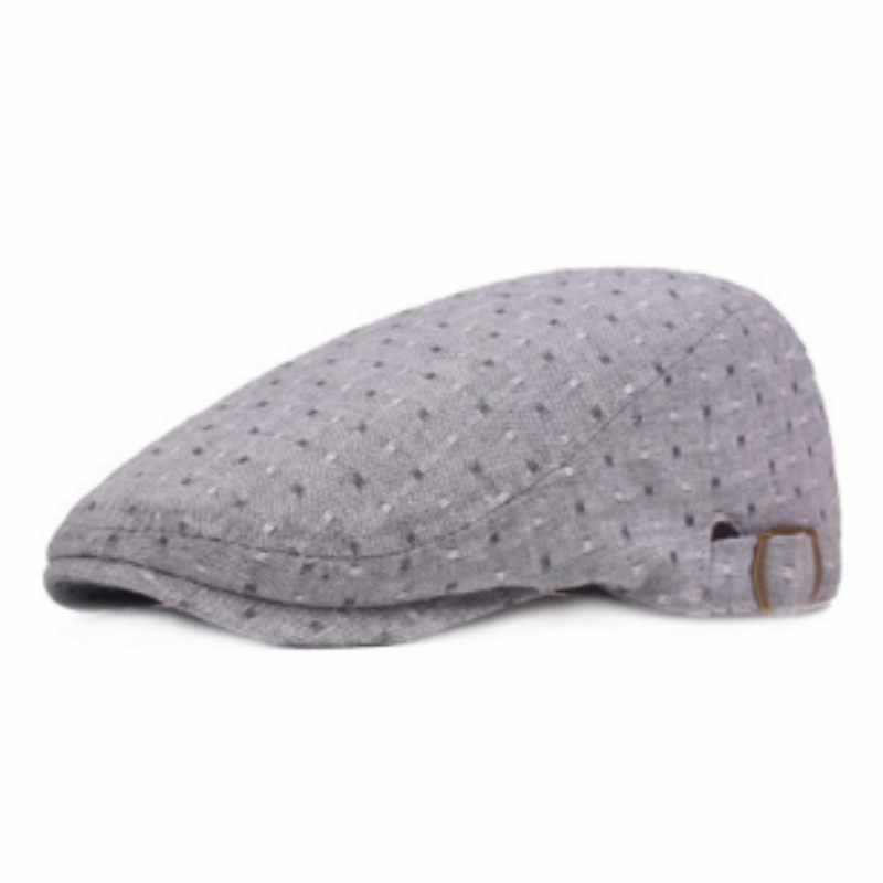 Которая в душе повседневная женская летняя козырек хлопок модная женская плоская кепка Регулируемый берет в стиле винтаж французский стиль ретро Газетчик шляпа