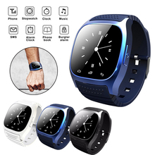 Bluetooth M26 Smart Watch Men Smartwatch reloj inteligente Wearable Devices SMS Alarm Clock Smartwatch For Android Watch