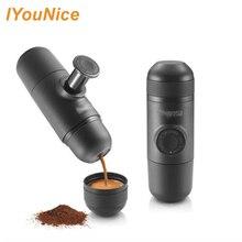 Hand Kaffeemaschine hand espressomaschine mini kaffeemaschine topf tragbare für outdoor-reisen design