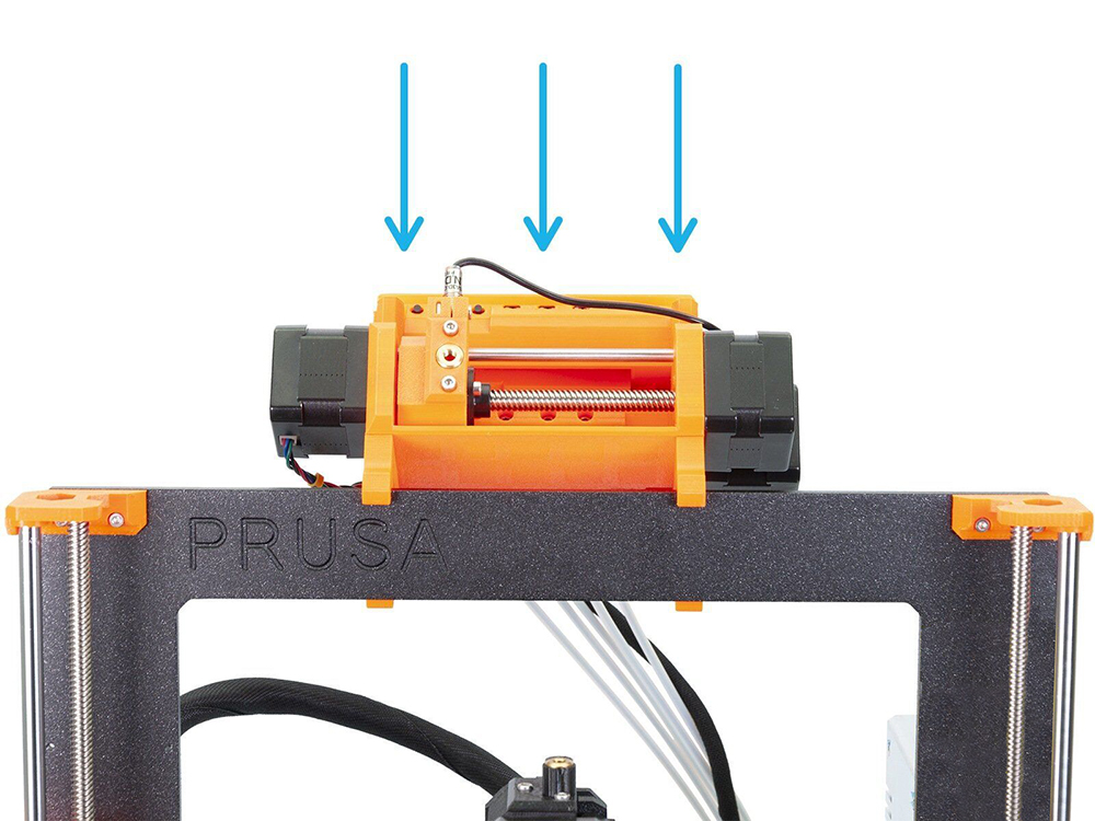 Image 3 - Clone Prusa i3 MK3S Printer Full Kit With MMU2S Complete Kit Multi Material 2S Upgrade Kit 3D printer DIY MK2.5/MK3/MK3S-in 3D Printers from Computer & Office