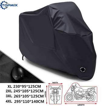 XL XXL XXXL XXXXL High Quality 210D Waterproof Outdoor Motorcycle Moto Cover Electric Bicycle Covers Motor Rain Coat 3 Colors 265x105x125 xxl 210d waterproof protector motorcycle covers for universals scooter motor bike dirt outdoor cover coat