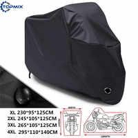 XL XXL XXXL XXXXL Hoge Kwaliteit 210D Waterdichte Outdoor Motorfiets Moto Cover Elektrische Fiets Covers Motor Regen Jas 3 Kleuren