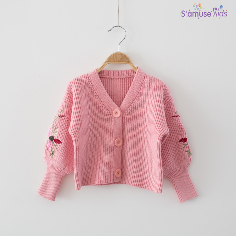 36395d645 Girls Sweaters Newborn Baby Knitted Sweater Children Cardigan ...