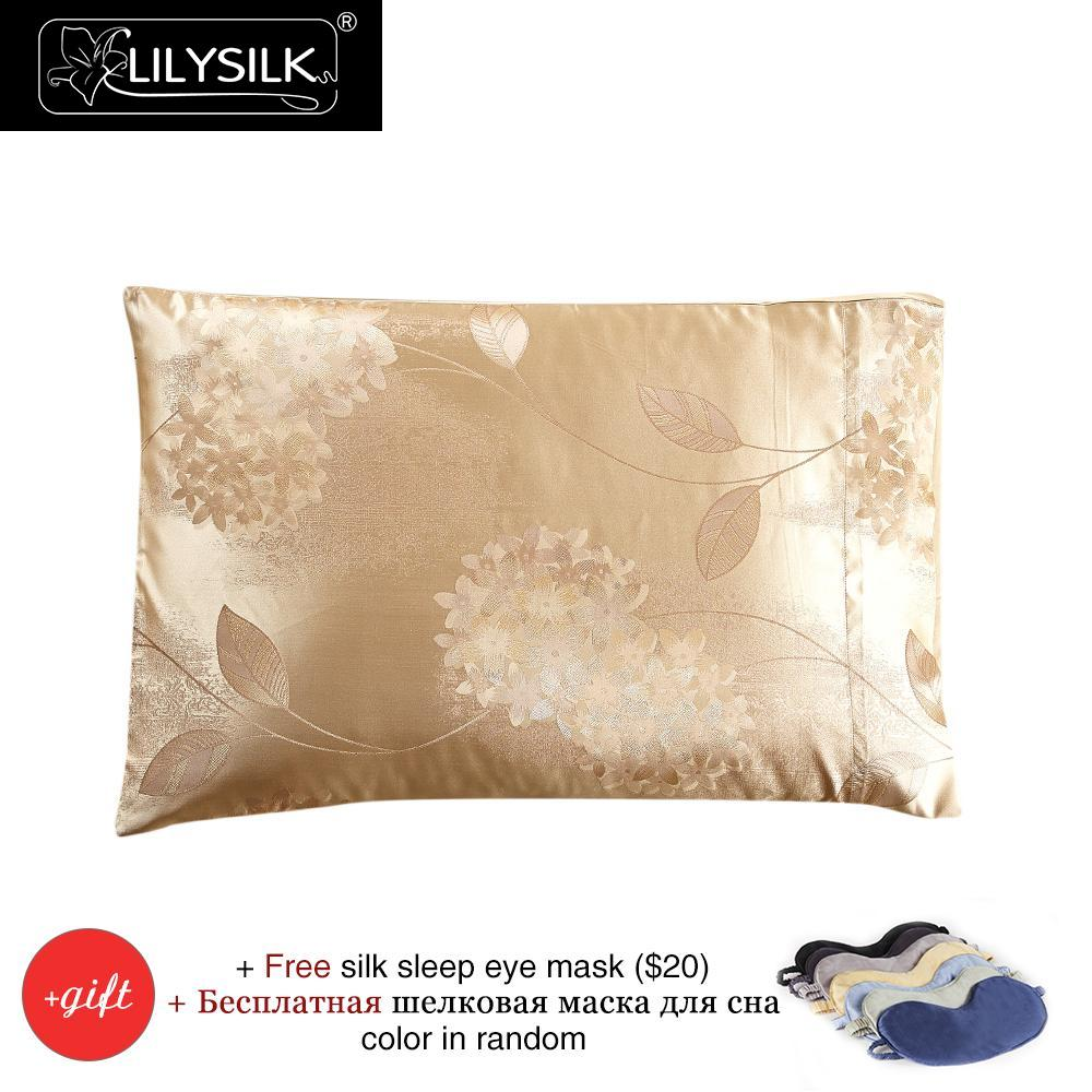 Lilysilk 100 Natural Silk Pillowcase Blossom Terse Pure