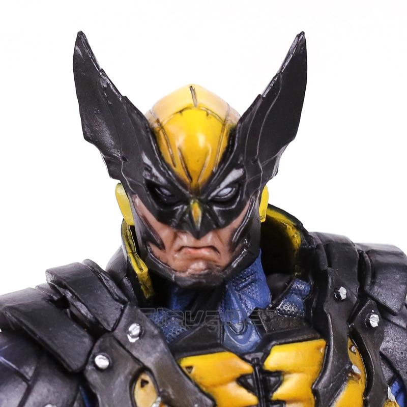 Play Arts Kai Marvel X-MEN Wolverine Logan PVC Action Figure 22