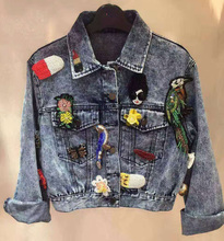 fashion jacket women,unique denim jacket casual chaquetas mujer,women basic coats,autumn casaco feminino amazing jean jacket