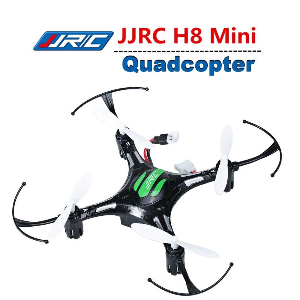 Caliente JJRC H8 RC Drone modo sin cabeza Mini giroscopio de 6 ejes giroscopio 2,4 GHz 4CH Dron una retorno clave helicóptero del H37 H31