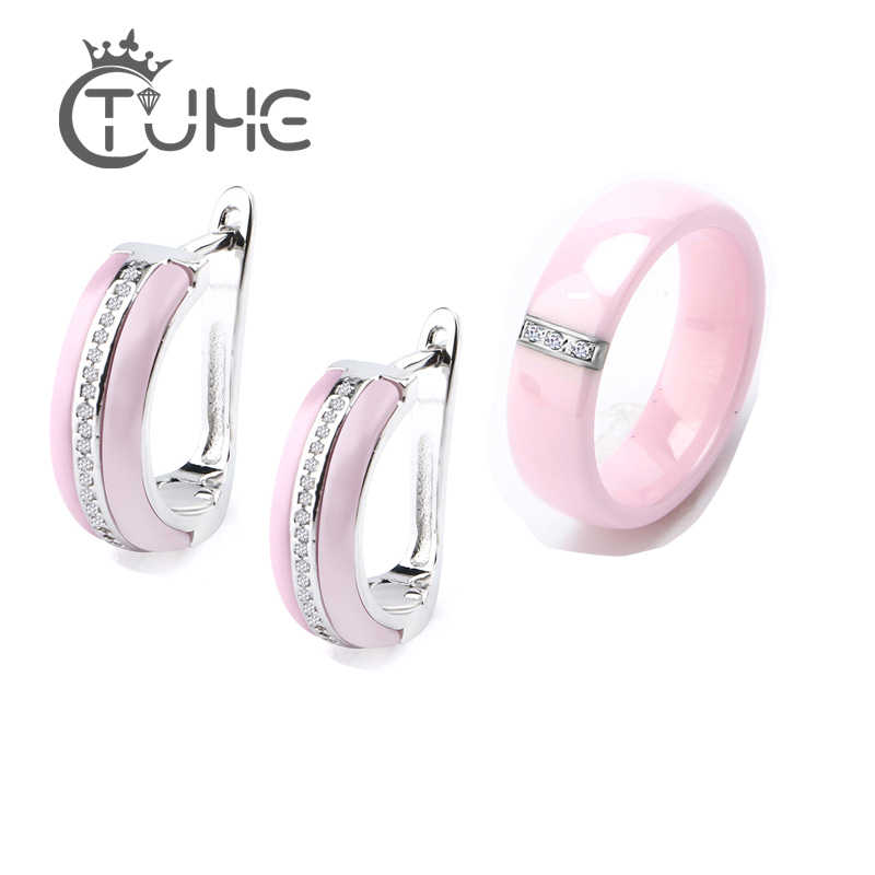 5358d7b0fb Detail Feedback Questions about Cute Pink Ceramic Crystal Charm ...