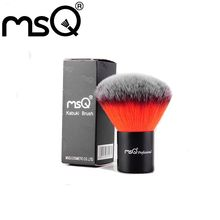 2016 Newest Kabuki Brush Professional MSQ Powder Brush Synthetic Hair Facial Buffer Cosmetic Single Make Up Brush For Beauty
