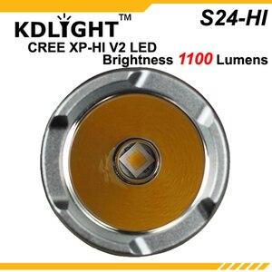 Image 3 - ใหม่ KDLITKER S24 HI CREE XP L HI V3 สีขาว 6500K / Neutral White 4500K/WARM White 3000K 1100 Lumens 3 โหมดไฟฉาย LED