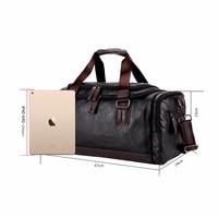 Викуньи Поло большой ёмкость для мужчин дорожные сумки простой контраст черный вещевой мешок для путешествий повседневное бренд