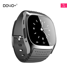 2017 M26 Bluetooth Smart Watch Luxury Wristwatch R Watch Smartwatch with Dial SMS Remind for Android