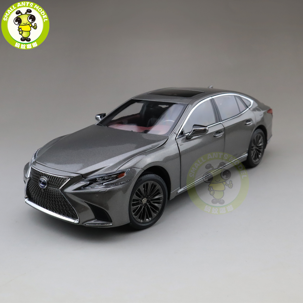 1/18 LS 500h литой модельный автомобиль игрушки Дети Подарки для мальчиков и девочек серый