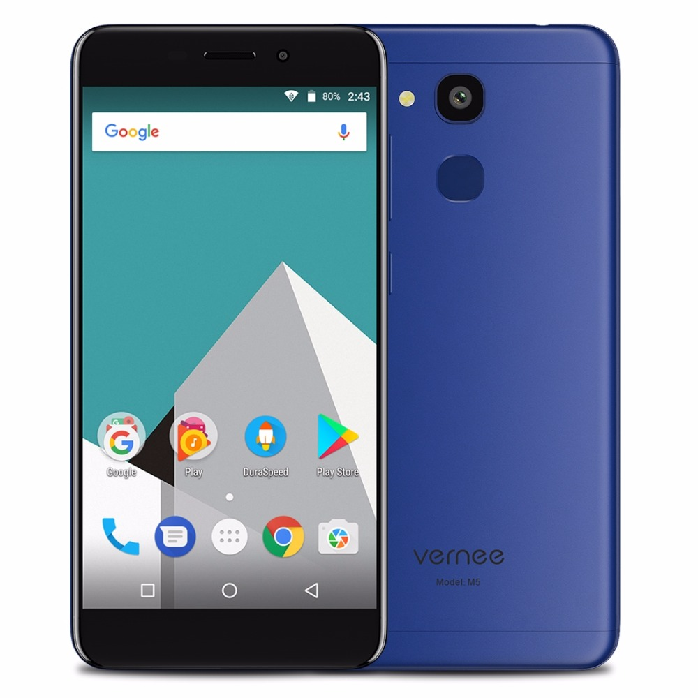 Vernee M5 MT6750 Octa Core Android 7 0 Cellphone 4G RAM 64G ROM 5 2 Inch