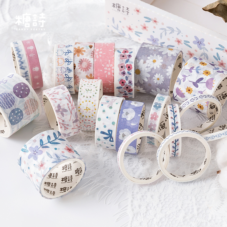80PCS/LOT early summer story series decoration paper masking tape washi tape80PCS/LOT early summer story series decoration paper masking tape washi tape