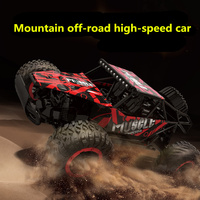Free shipping New remote control car 2.4G climbing off road 1: 16 drift high speed cart tin car Boy Toys 3615B