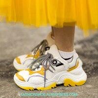 2018 Обувь с дышащей сеткой Для женщин кроссовки платформы путешествия женская обувь плоская платформа лианы женский Туфли без каблуков спор