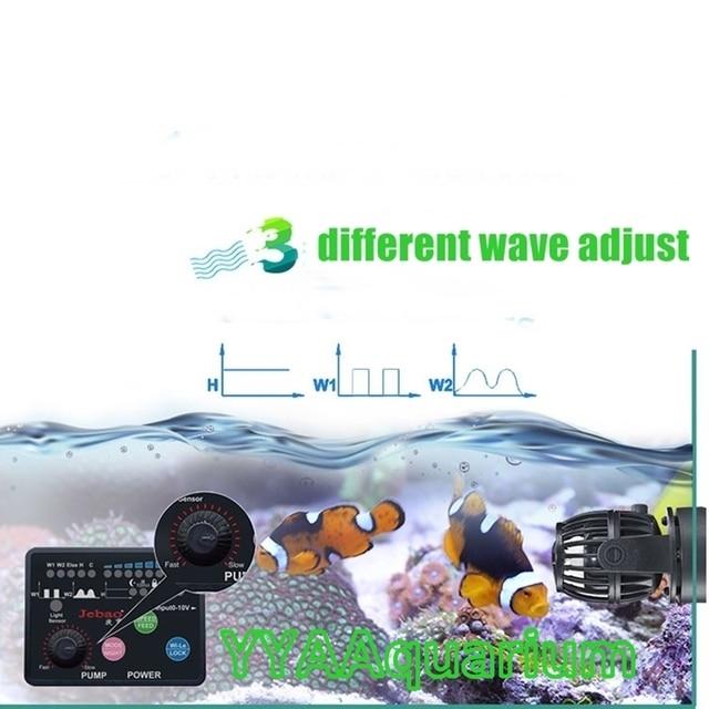 2017 Jebao SW2 Quiet Wavemaker W/ Master Slave Controller DIY Impeller Pump For Reef Marine Aquariums Ponds RW Wave Maker Update