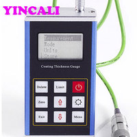 Leeb230 Chromium Copper Zinc Tin Tubber Paint Coating Thickness Gauge Operating principle Magnetic induction
