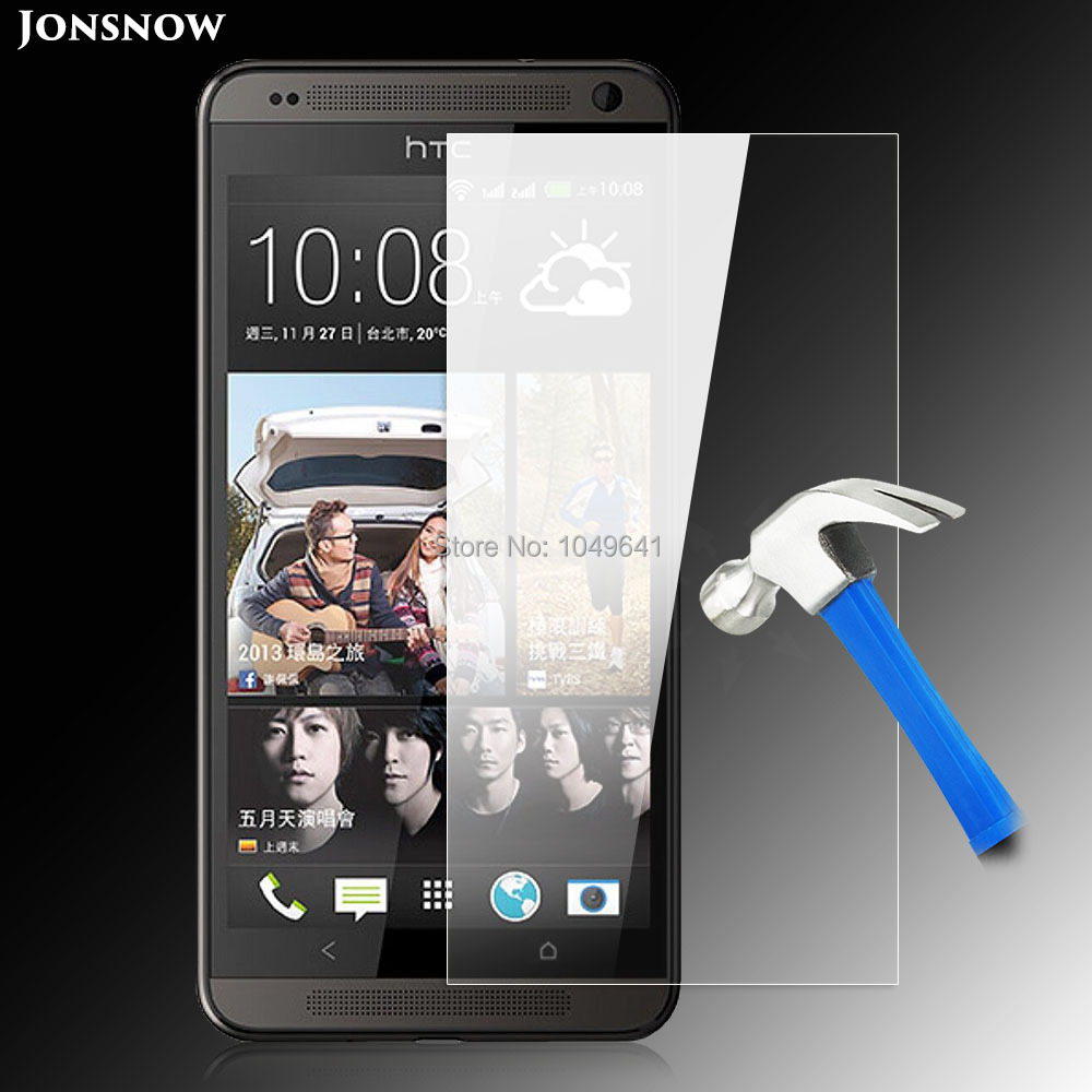 Jonsnow Screen Protector for HTC Desire 700 Dual SIM D700 709d 7060 Explosion-proof Tempered Glass Film High Clear Front Guard